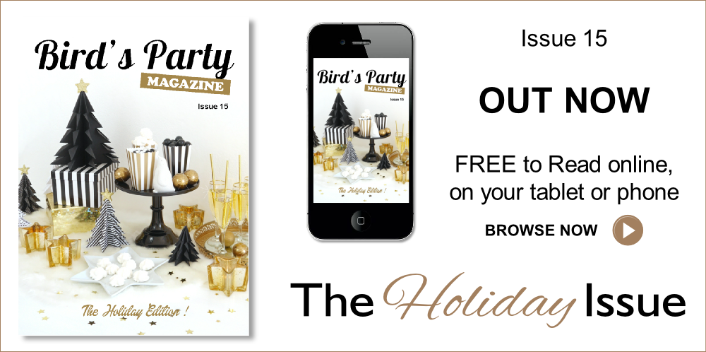 Holiday Party & Gift Guide 2016 | Bird's Party Magazine - Read online FREE