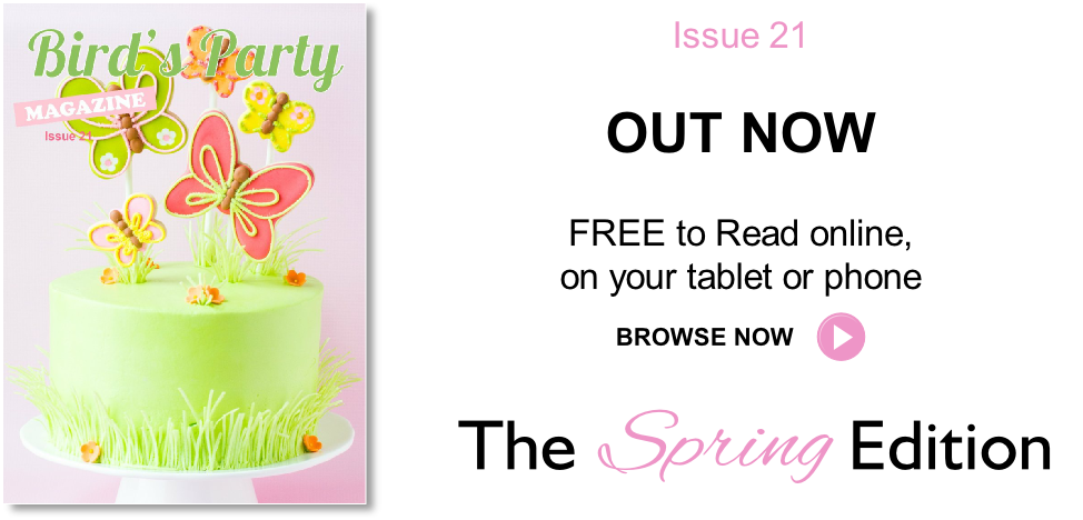 Party Ideas Magazine Spring