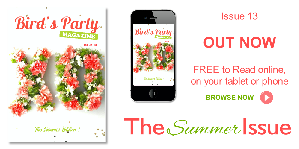 Bird's Party Magazine Summer Edition