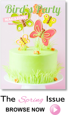 Party Ideas Magazine Spring Easter